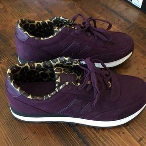 New Balance Purple & Leopard Shoe